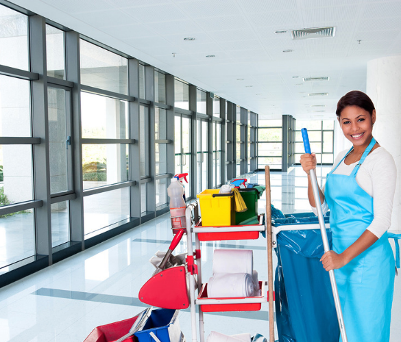 commercial cleaning values